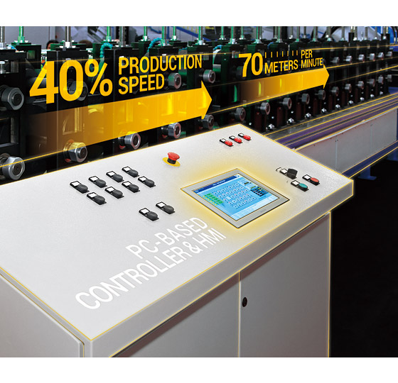 EtherCAT-Enabled Panel PC Raises Production Speed by 40% with Simplified System Architecture
