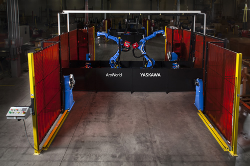 The New ArcWorld 2000 from Yaskawa Motoman Offers Flexible Approach to Configuring a Robotic Welding System