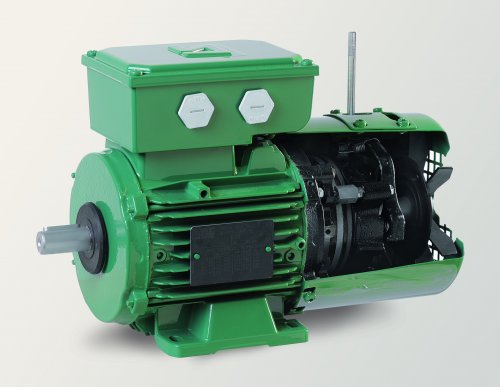 New range of FFB 'Flexible concept' brake motors on the IMfinity® induction motors platform