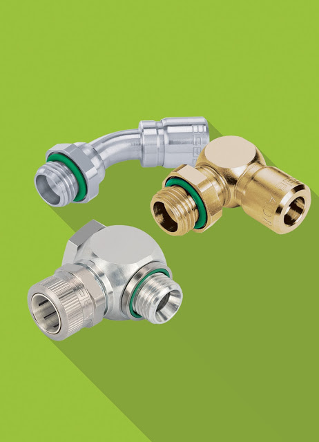 Versatile solid metal tube connections for all industrial applications