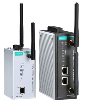 Moxa's New Generation AWK-A Series Defends Your Networks with Robust Reliability