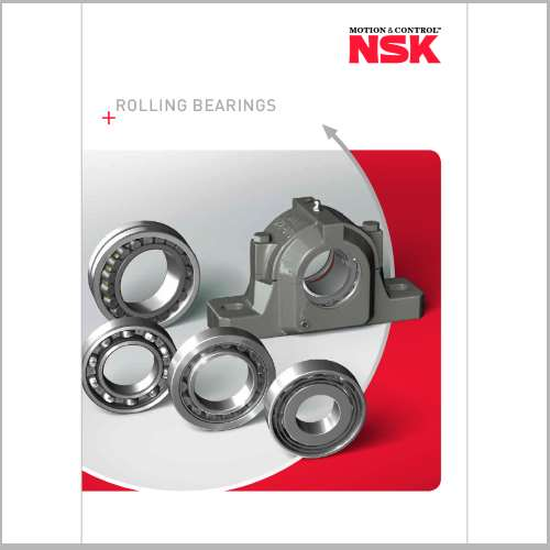 NSK releases updated Rolling Bearings catalogue