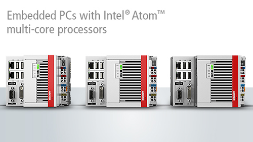 New Video from Beckhoff showing the CX5100 Embedded PCs with Intel® Atom™ multi-core processors